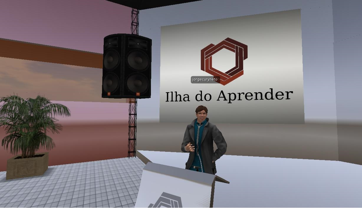 Voice Design no Second Life na Ilha do Aprender