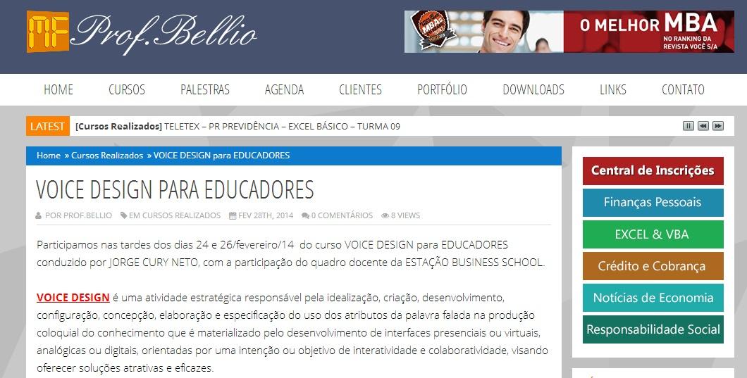 Clique e acesso o blog do Dr. Bellio