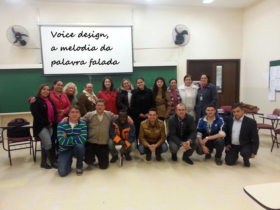 Silêncio, acadêmicos em aula foi o tema da palestra da Faculdade Evangélica do Paraná