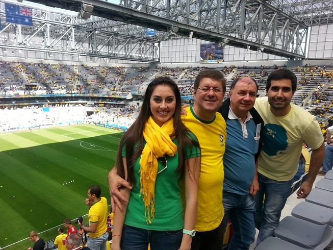 Nossas vozes na Copa do Mundo em Curitiba