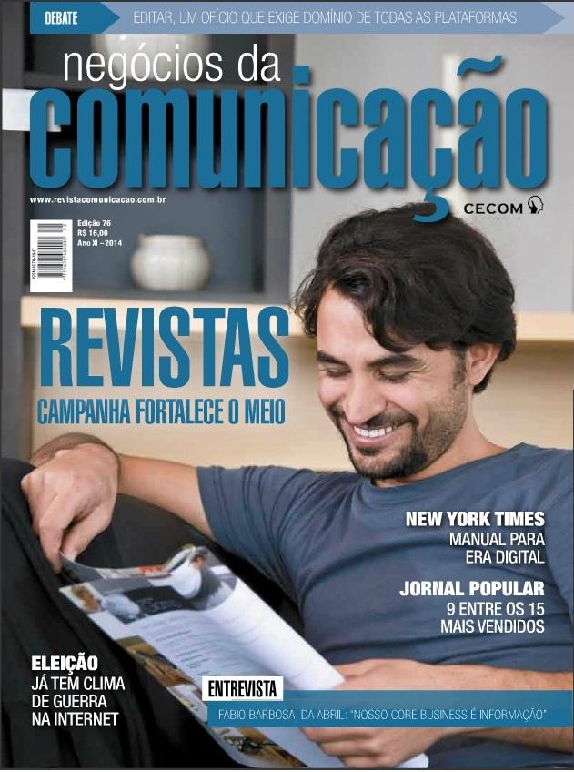 Revista Negócios da Comunicação publica artigo sobre Voice Design