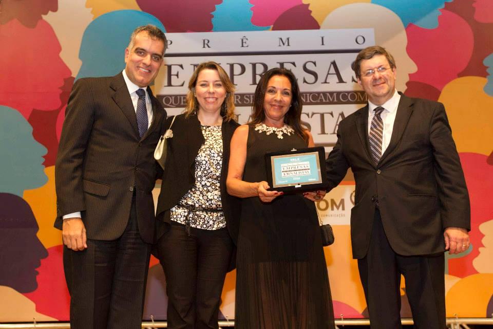 Entrega do Prêmio Empresas que Melhor de Comunicam com Jornalistas.
