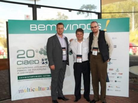 Luiz Gustavo Schmoekel, Jorge Cury Neto e Alexandre Salvador
