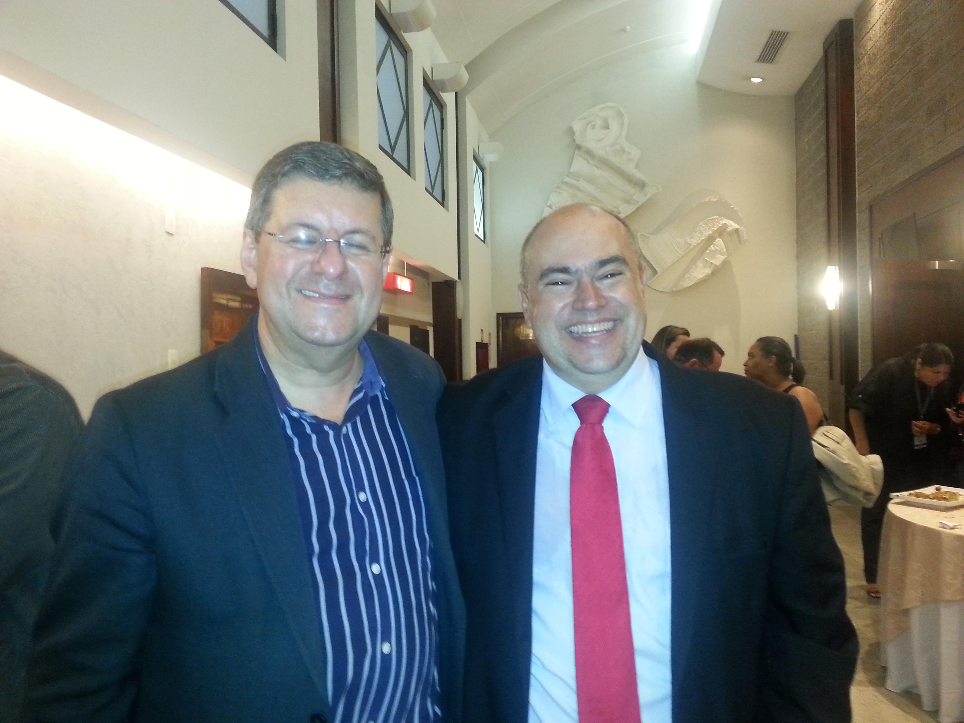 Reitor da Universidade da Inteligência com Jorge Cury Neto