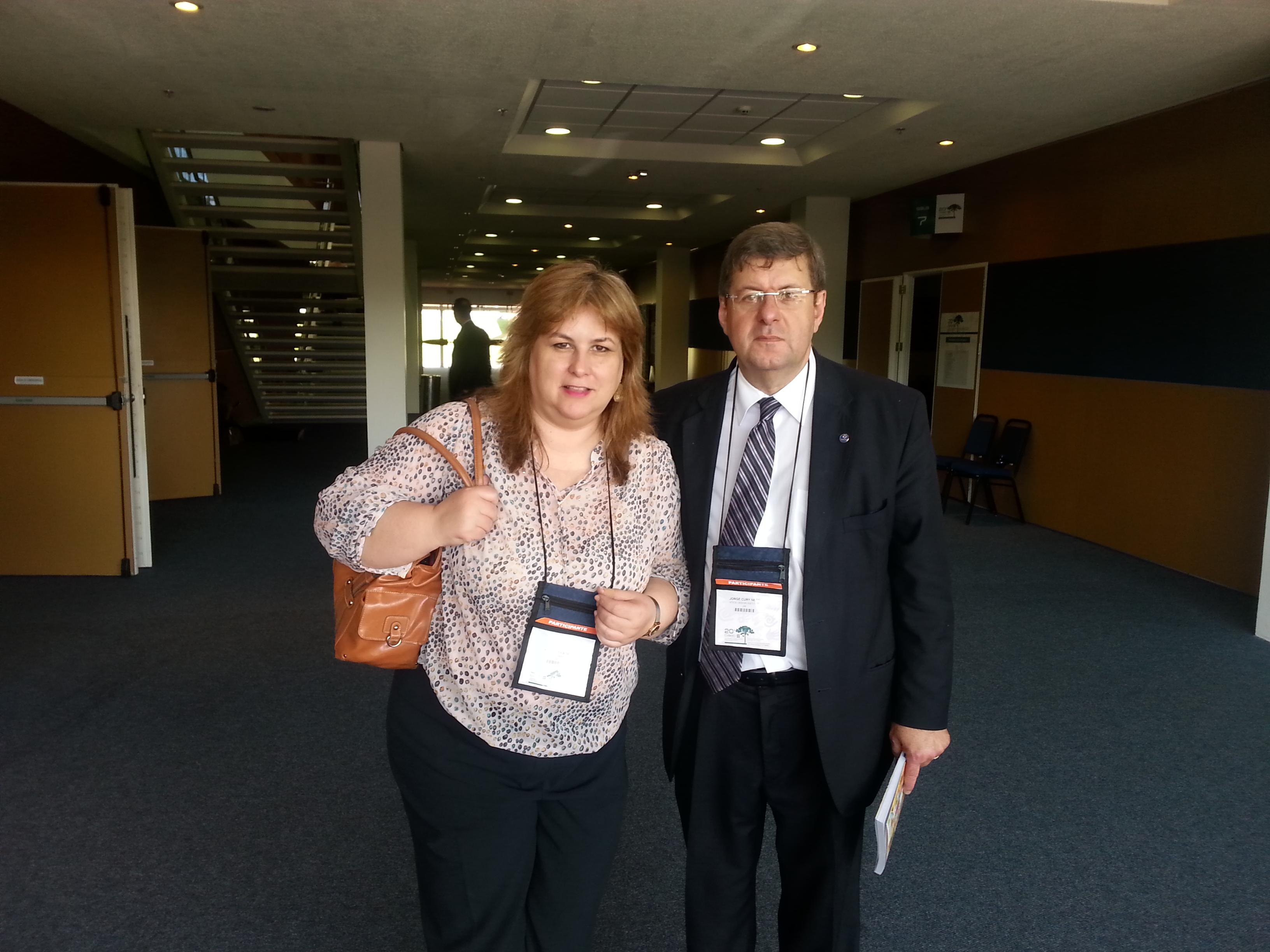 Andrea Filatro e Jorge Cury Neto no 20º CIAED em Curitiba