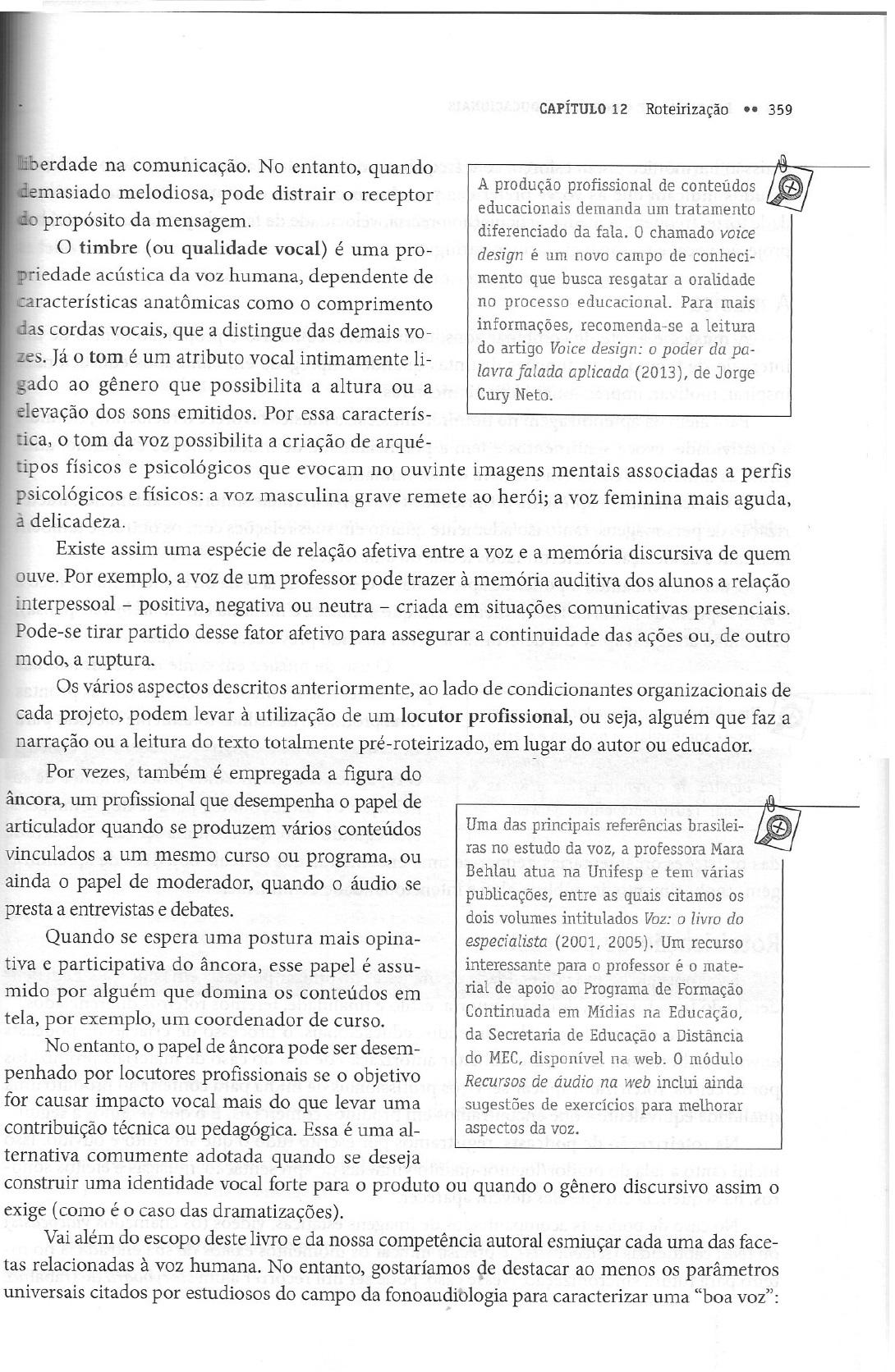 Livro de Andrea Filatro com Sandra Cairo referenda Voice Design