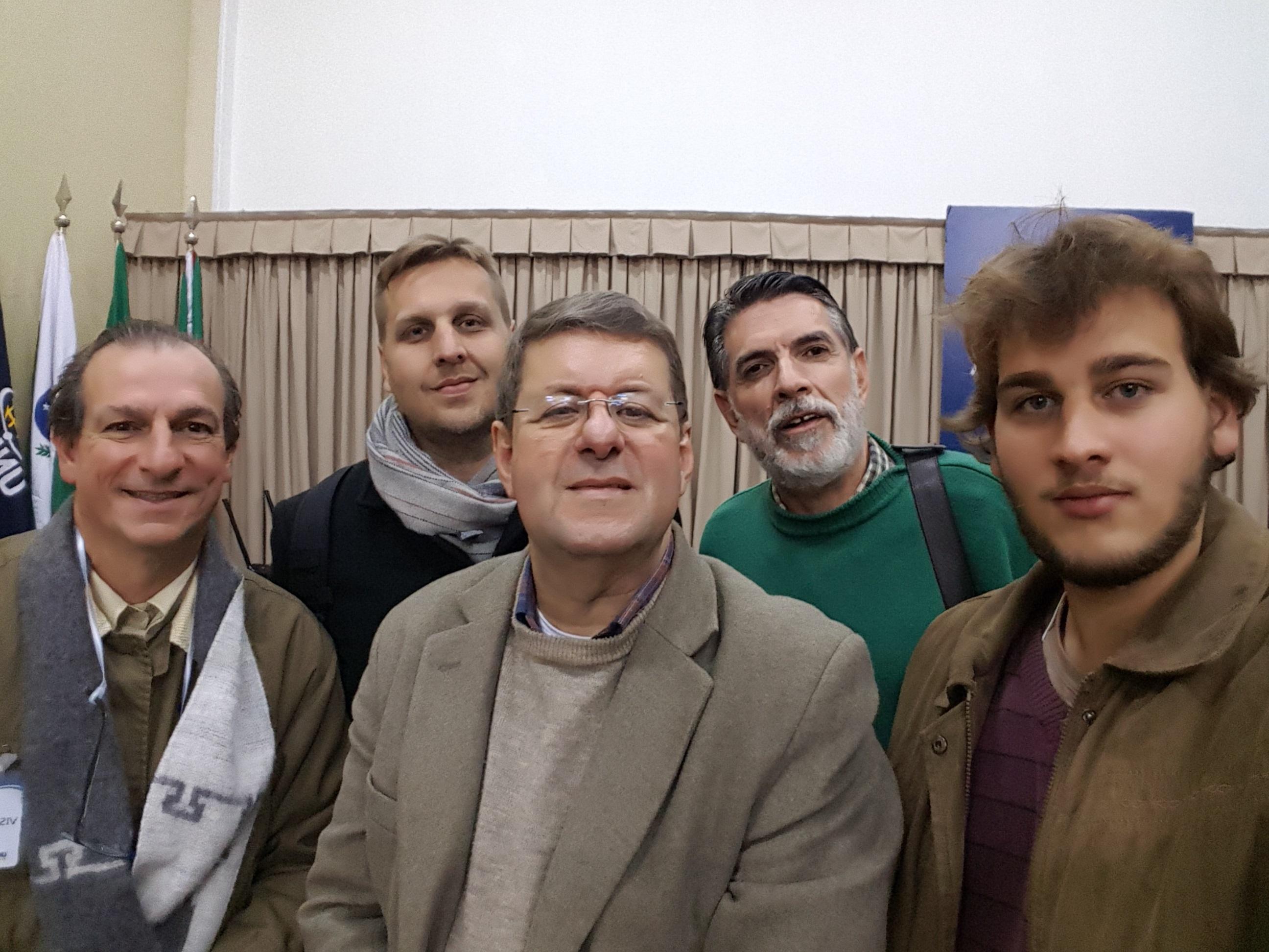 Paulo Mosimann, Luiz Gustavo Schmoekel, Jorge Cury Neto, Valdir Cruz e Klaus Mosimann