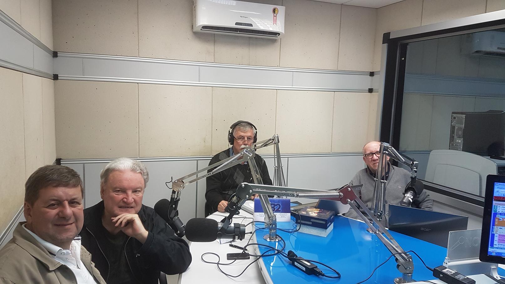 Jorge Cury Neto, Jota Agostinho, Sidney Campos e Osni Maier.