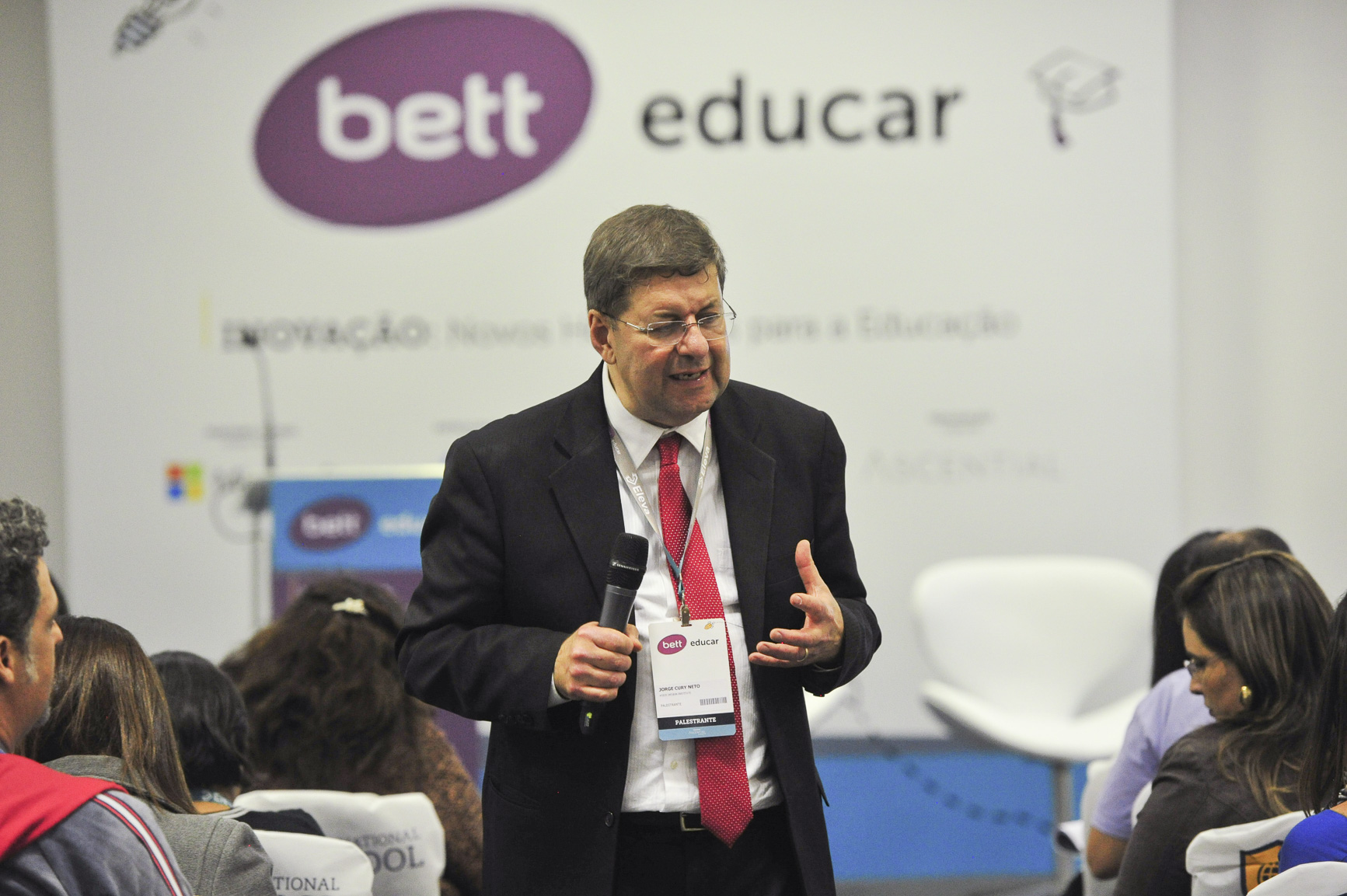 Flagrantes do Voice Design para Educadores do Bett Educar 2017
