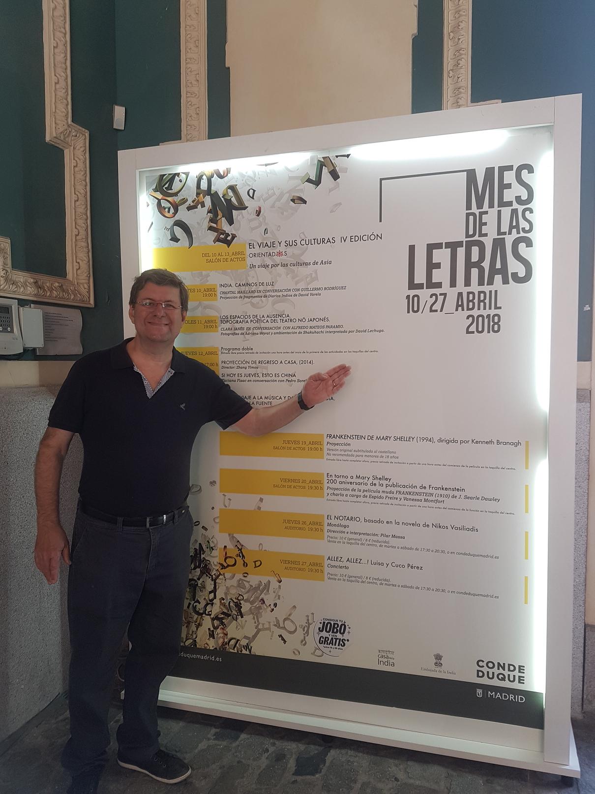 Mês de Las Letras em Madrid
